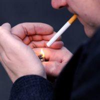 utolsó cigaretta elszívása
