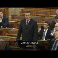 parlamenti képviselő Volner János jobbik. Kétmilliárdról döntenek.