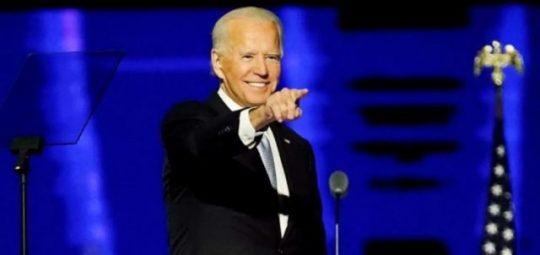 Amerika elnöke Joe Biden gyozelmi-beszed