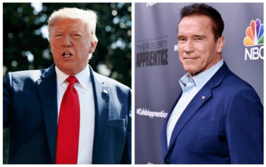 Arnold Schwarzenegger Donald Trump telefonhívás demokrácia