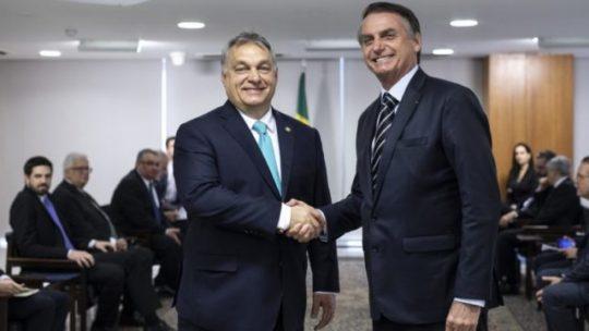 Bolsonaro diktátort  nem érdekli mások élete sem a demokrácia - Orbán Brazíliában