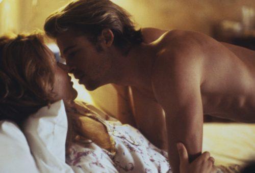 vetkőzős sztriptíz sztárok. Brad Pitt csak szűk körben és poénból vállalt meztelenkedést.