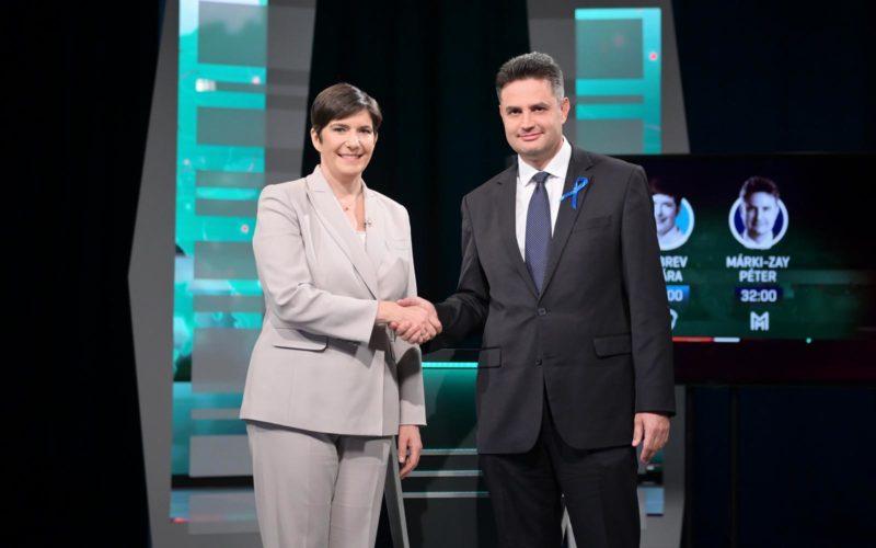 Dobrev az előválasztási vitát megnyerte tegnapi RTL tv-ben a Závecz felmérése szerint