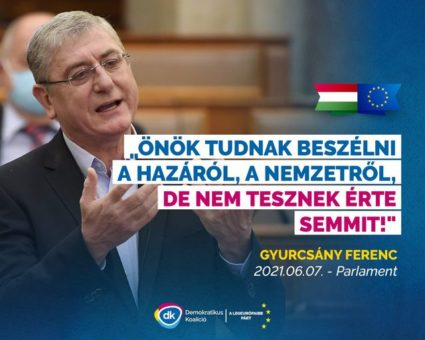 Gyurcsány Ne kelljen Fidesz párttagkönyv a sikerességhez Magyarországon