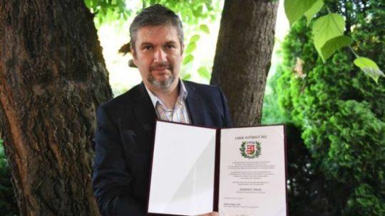 Hadházy Ákos Nagy Imre Társaság Budapesti Szervezete díjat nyert