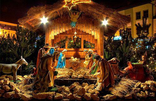 Jézus születésének története, szent este karácsony ünnepe