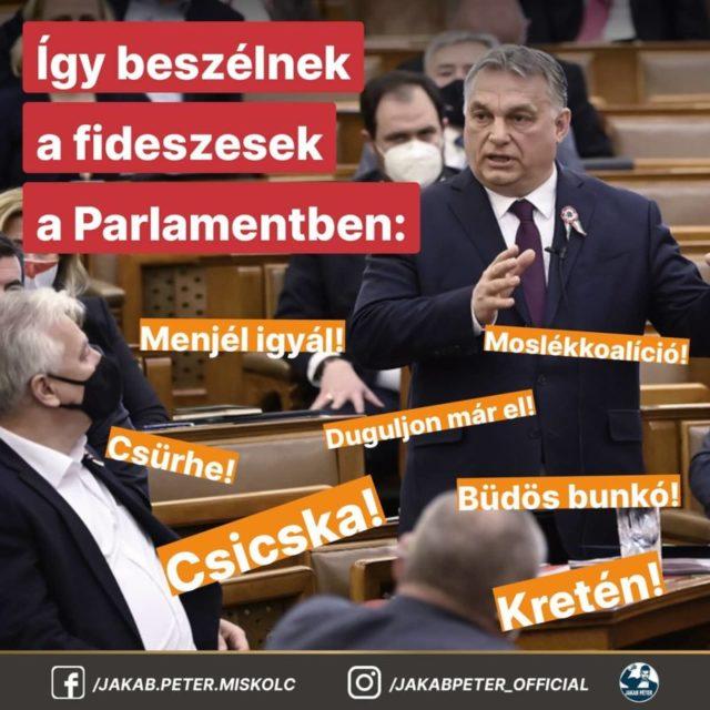 Jakab Péter Orbán rémálma Jobbik elnöke nyilvánosságra hozta FIDESZ-KDNP szégyenlistáját 2
