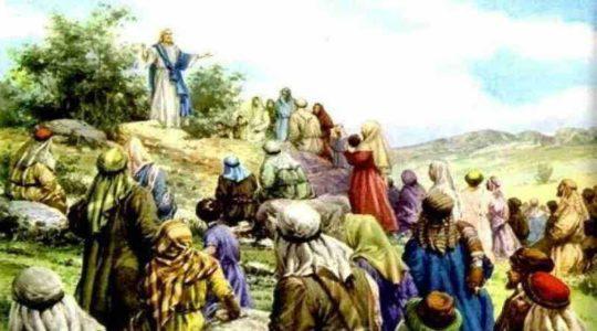 Jézus forradalmi mondásai, Jézus elpusztítja bűnös világuralmat, Jézus Krisztus hegyi beszéde