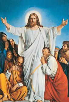 Jézus feltámadt Húsvét vasárnap öröm ünnep vigília