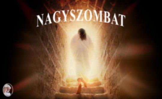 Jézus húsvét nagyszombat liturgia