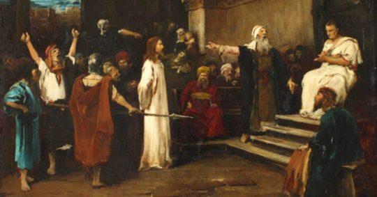 Jézus pere pilátus és herodes előtt kihallgatás-2