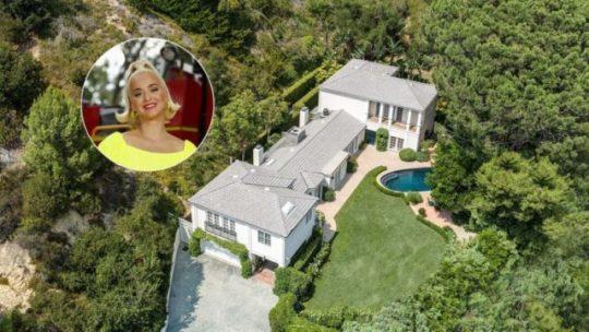 Katy Perry két milliárdos luxus háza értékesítésre
