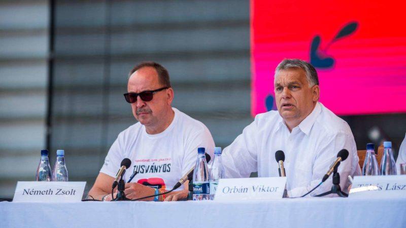 Orbán illiberális rendszer Magyarországon erőszakos, tolvaj maffiaállam erdélyi tusványoson