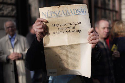 """Sajtók figyelése - """"sajtószabadság"""" MEGSZÜNT!"""