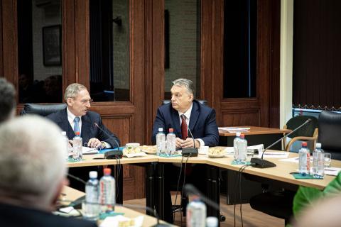 koronavírus fertőzés Magyarországon Orbán Viktor