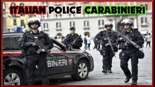 olasz maffia elleni fellépés rajtaütés