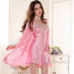 szexis fehérneműk, női selyem fehérneműk, női-hálóing-154