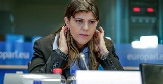 Laura Codruta Kövesi, az Európai Ügyészség vezetője